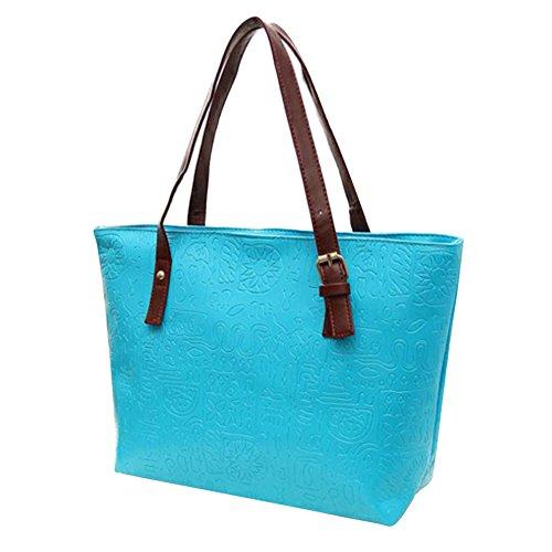 OMIGAI - Bolso al hombro para mujer, naranja (Naranja) - E467P24Y3189CZ Azul
