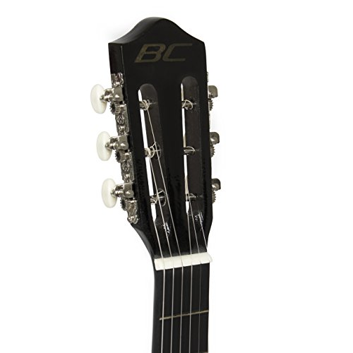 Best Choice Products Beginners 38'' Acoustic Guitar with Case, Strap, Digital E-Tuner, and Pick, (Black) - Image 4
