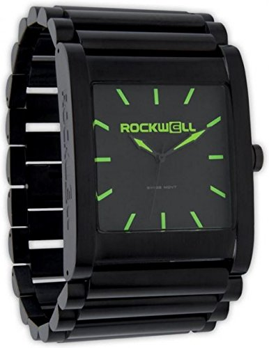 Rockwell Time Men's Rook Dial Watch, Black Case/Green by Rockwell Time