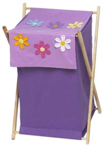 Sweet Jojo Designs Baby and Kids Clothes Laundry Hamper - Danielle's Daises HAMPER-DAISIES