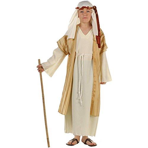 [Boy's Deluxe Sheperd Costume (Size: Medium 8-10)] (Bible Costumes For Kids)