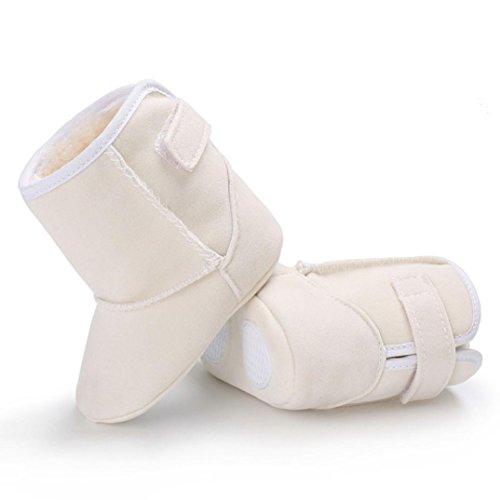 BZLine® Baby Schnee Stiefel kleinkind kleinkinder newborn Erwärmung Schuhe Weiß