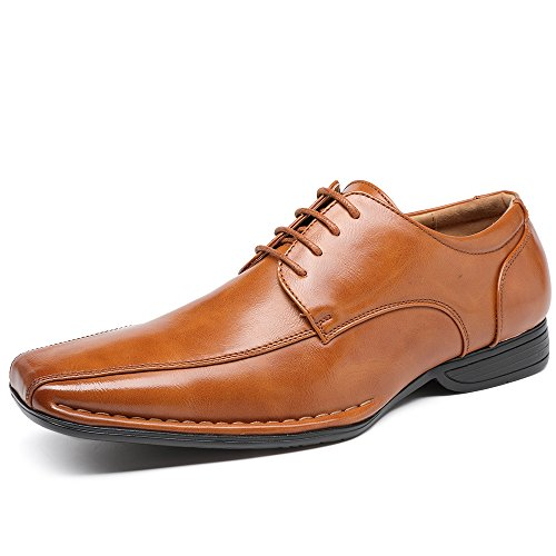 Oxford Modern 006 Shoes Lace Leather Formal OUOU Classic up Brown OUOUVALLEY Lining Bq4SwH