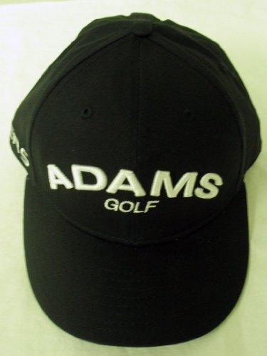 Adams Golf Super S Fitted Hat 5950 (Navy, 7 1/4) Flat Bill Cap