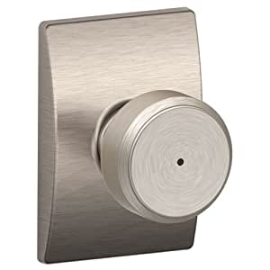Schlage F40 Bowery With Century Rose Privacy Lock With