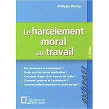 HARCÈLEMENT MORAL AU TRAVAIL (LE) 4ÈME ÉDITION