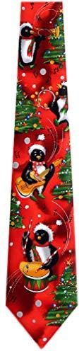 JG-7137 - Jerry Garcia Designer Polyester Christmas Holiday Necktie Ties