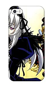Iphone 5/5s Rozen Maiden Print High Quality Tpu Gel Frame Case Cover