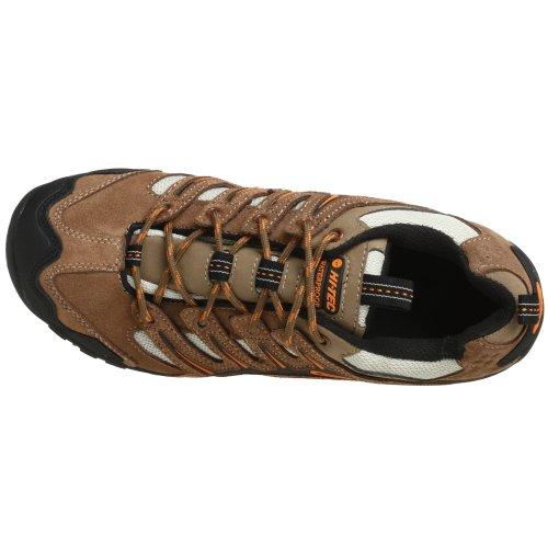 Sneaker Da Uomo Hi-tec Auckland Marrone / Nero / Arancione