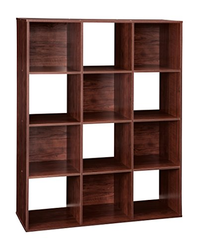 closetmaid-1022-cubeicals-12-cube-organizer-dark-cherry