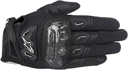 Alpinestars Men's 3567717-10-XL Gloves (Black/White, X-Large) (Alpinestars Gloves Xl)