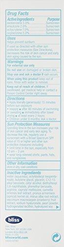 bliss Triple Oxygen Ultimate Protection UV Radiance Moisturizer, 1.7 Fl. Oz.