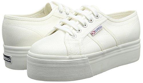2790 Lamew Platform white Adults' White Superga Sneakers Unisex W1fanq7p