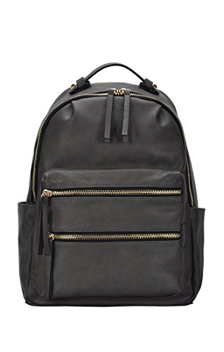 Madison West Kylie Backpack: Black - Charcoal - Light Grey - Tan - Taupe BGW-15616 ()