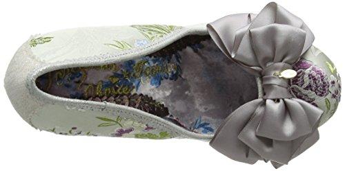 Schwarz Grau Pumps Ascot Grey Damen Silver Irregular Choice ICqwZUOO