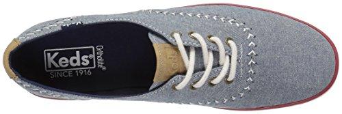 Keds-dames Kampioen Wimpel Mode Sneaker Donkerblauw