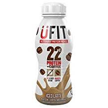 UFit Protein Iced Coffee Latte Shake Drink - 310ml (10.48fl oz)