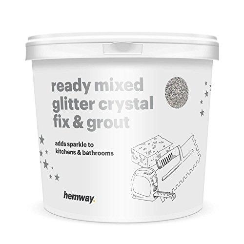 Hemway 4.5kg / 10lb Ready Mixed Glitter Crystal Fix & Gro...