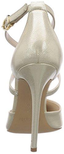 Fersengold Paris - zapatos de tacón cerrados de cuero mujer dorado - Gold (Gold)