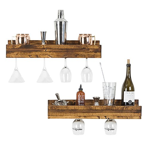 dining set with wine rack - 8