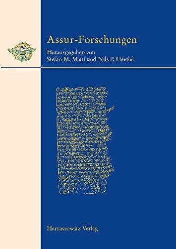 Keilschrifttexte aus Assur literarischen Inhalts