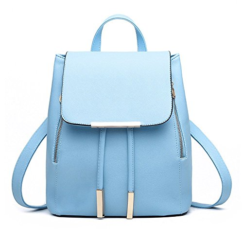 Jonon Women's Modern Design Deluxe Fashion Backpacks (M, LAKE BLUE) by JONON