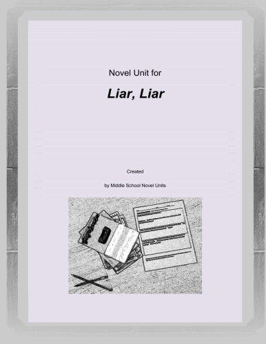 Download Novel Unit for Liar, Liar pdf epub
