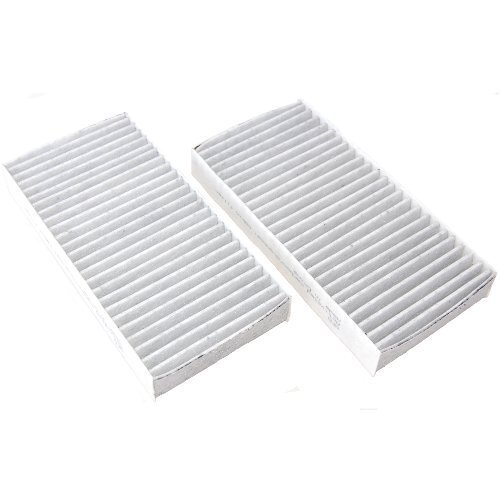 HQRP Activated Carbon / Charcoal Air Cabin Filter for Honda Acura RSX Type S 2002 2003 2004 2005 2006 plus HQRP Coaster