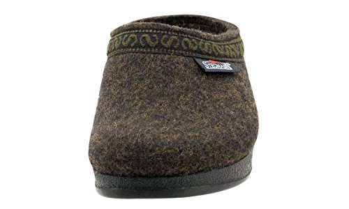 Polyflex Teak Felt Wool with Stegmann Sole Clog Women's xXOWPqZ