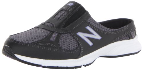 888098229813 - New Balance Women's WW520 Walking Shoe,Black/Purple,8 2A US carousel main 0