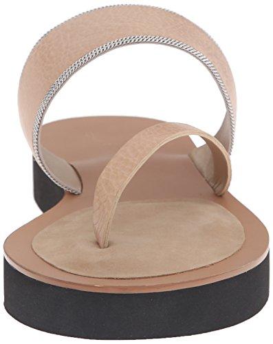 Women's Una Slide Vachetta Delman Sand Chain Sandal D Fine Dune V HqwIdnZEAd