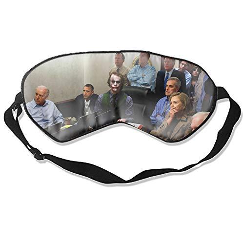 Fashion Humor Just Wrong Joker Osama Print Sleeping Mask Eyeshade Eye -