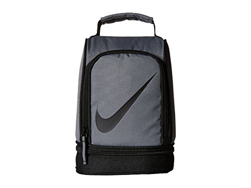 Nike Paneled Upright Insulated Lunchbox - Gray/Black, one Size (It Works Distributor Supplies)