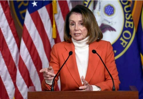 Amazon.com: Póster brillante de ConversationPrints Nancy Pelosi con imagen  de líder de la casa demócrata: Home & Kitchen