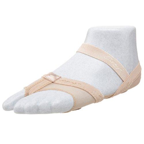 Capezio Women's Full Body Footundeez Lyrical/Modern Shoe,Nude,M (US Women's 8-9 M)