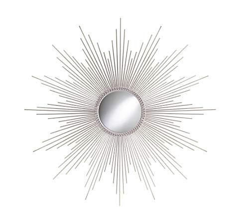 "TX USA 32"" Sunburst Mirror Silver"