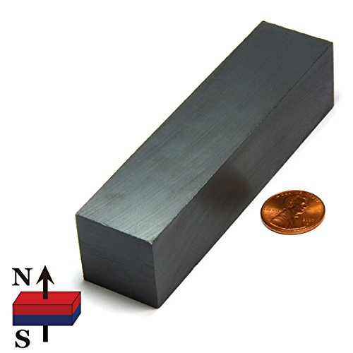 Cms Magnetics Ceramic Magnet 1x1x4 Quot One Piece Hardware