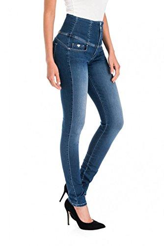 Diva Salsa Jeans Emana Skinny Bleu n1C7wqga
