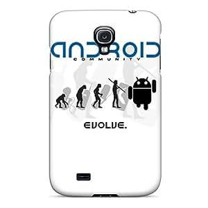 HenryAnaton Premium Protective Hard Case For Galaxy S4- Nice Design - Android Evolve