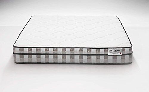 DreamFoam Bedding Ultimate Dreams Short 9-Inch Crazy Euro Top mattress, Queen