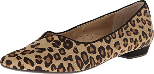VANELi Women's Ganet Camel Dino Hair Calf/Black Suede 8 D US