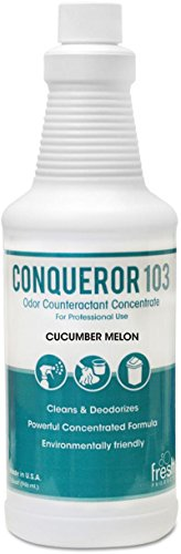 Digester Concentrate (Conqueror 103 Odor Counteractant Concentrate, Cucumber Melon, 1qt Bott)
