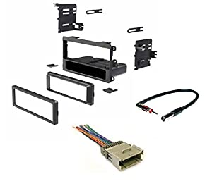 41nH1Kwe20L._SX300_ amazon com asc single din car radio dash kit, wire harness, and  at panicattacktreatment.co