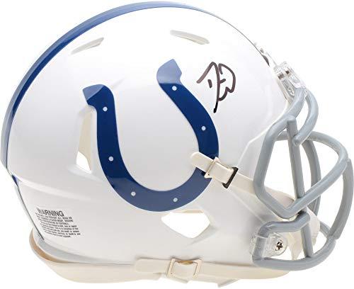 Darius Leonard Indianapolis Colts Autographed Riddell Speed Mini Helmet - Fanatics Authentic - Authentic Colts Autographed Helmet
