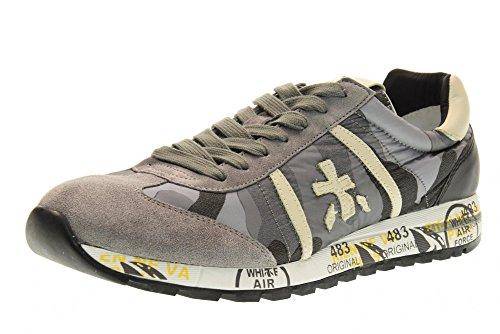 PREMIATA zapatos de los hombres zapatillas de deporte bajas LUCY 2031 GRIS