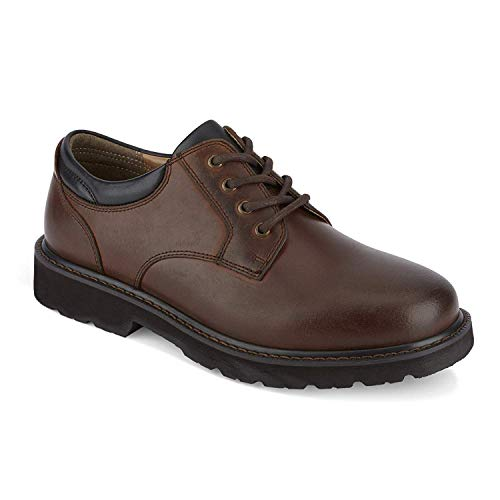 Dockers 90-03908 Men's Shelter Plain-Toe Oxford, Red Brown - 8.5 M US