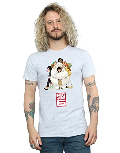 Hug Homme 6 Big Gris Hero Baymax Sport shirt T Disney fgOTZnO