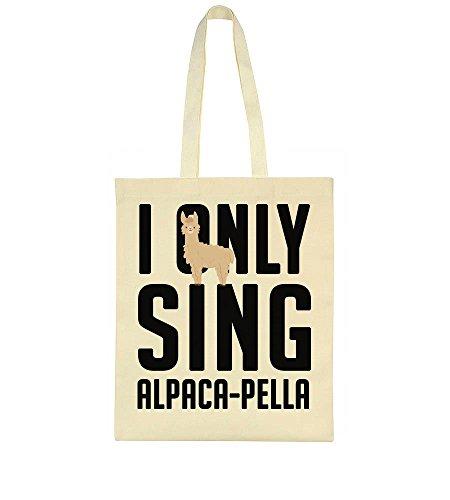 Alpaca Tote Alpaca Sing Pella Only Design Cute I Bag qXHA0B