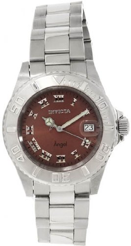 Invicta Angel Brown Dial Stainless Steel Ladies Watch 14362 [Watch] Invicta