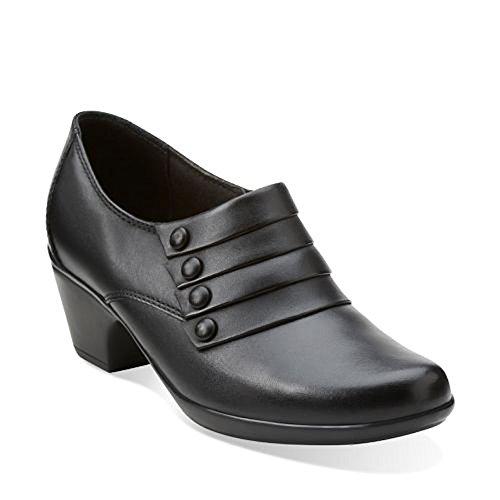 Clarks Womens Ingalls Falls Black Boot 7.5 B (m)